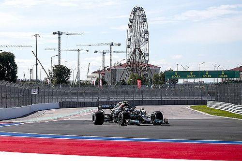 Russian GP: Bottas leads Mercedes 1-2 in first practice