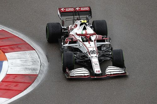 Giovinazzi reed Russische GP zonder teamcommunicatie