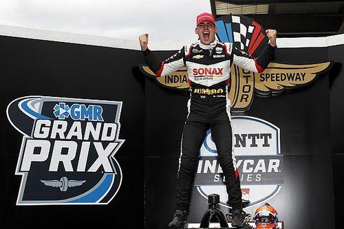 IndyCar Indy GP: VeeKay kazandı, Grosjean ilk podyumunu aldı