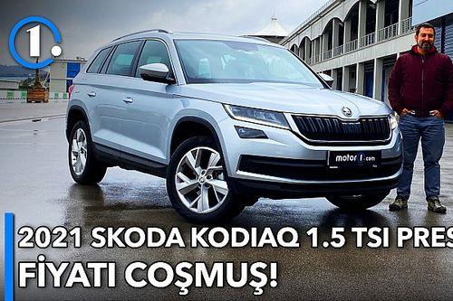 2021 Skoda Kodiaq 1.5 TSI Prestige   Neleri Farklı?