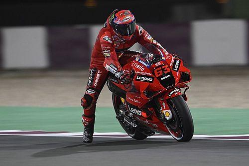 Qatar MotoGP: Bagnaia takes maiden pole for Ducati