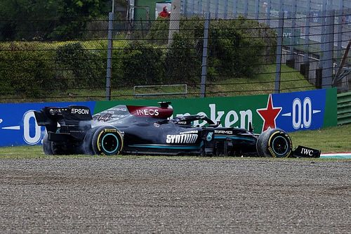 Why Hamilton didn't break F1's rules for reversing on track