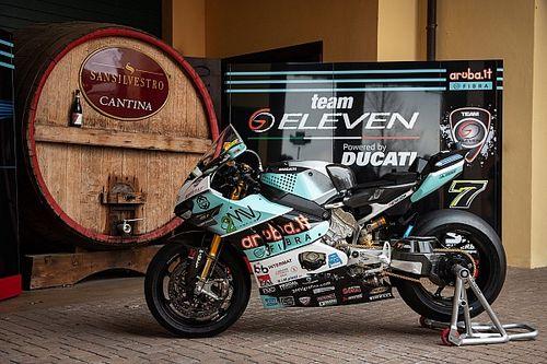 SBK: il team GoEleven svela la nuova Ducati di Davies