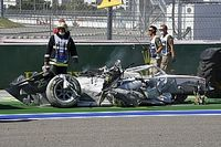 F2, Sochi, Sprint Race a Zhou. Terribile crash Ghiotto-Aitken