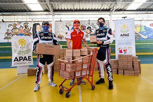 Stock Car: Milhão Solidário faz primeira entrega para entidades em Londrina