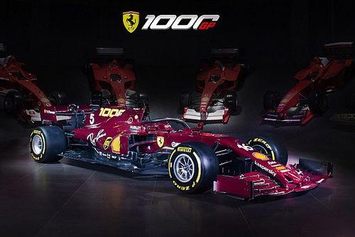法拉利公布酒红色复古F1赛车涂装