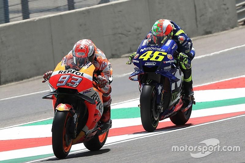 Rossi tudja, hogy a rekordjai Marquez miatt veszélybe kerültek