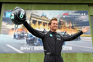 Formula E Motorsport.com hírek Videón Nico Rosberg első Formula E tesztje