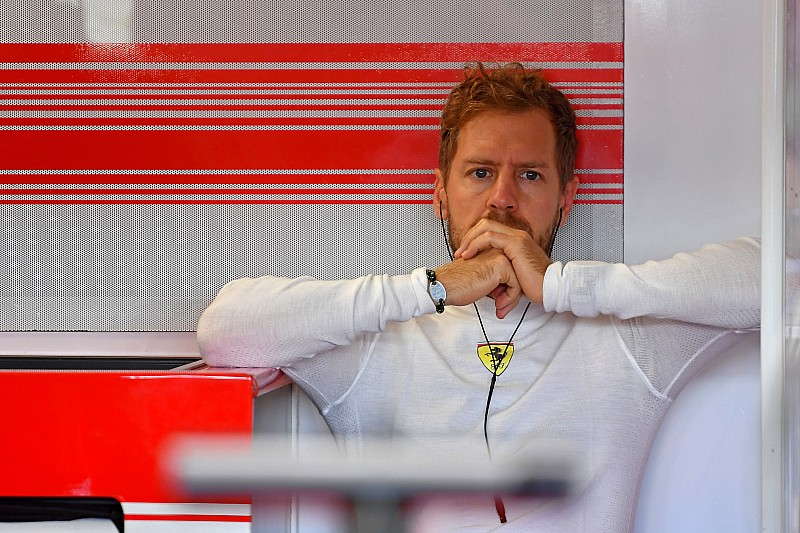 Vettel, boynundaki ağrıya rağmen piste çıkacak