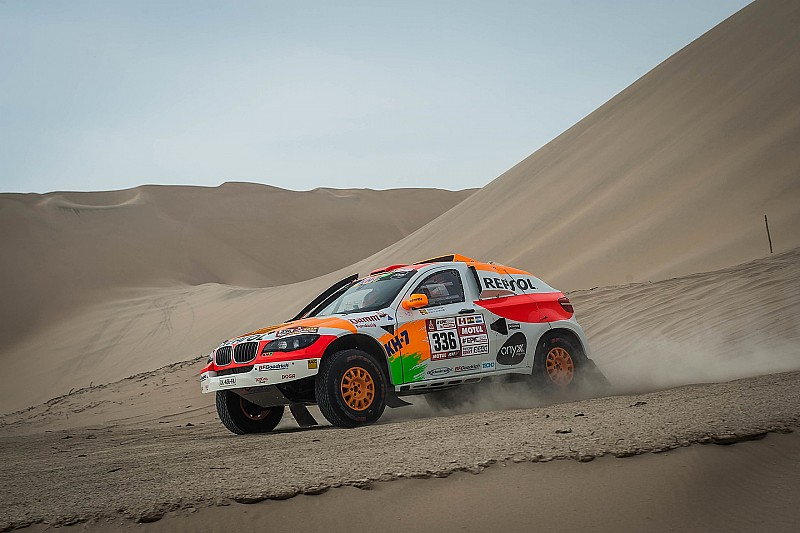 Isidre Esteve agradece etapas difíciles en el Dakar