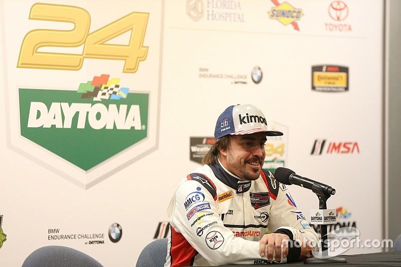 Alonso confirmado para las 24Hrs de Daytona, ahora con Cadillac