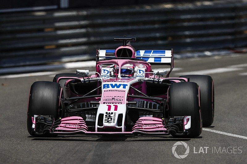 Force India planeja introduzir nova asa dianteira
