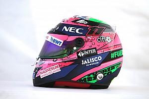 Formule 1 Diaporama Photos - Le casque de Sergio Pérez à Mexico