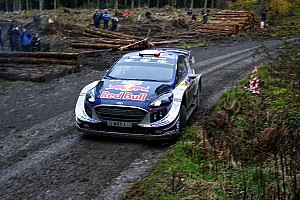 WRC Stage report Wales WRC: Ogier takes early lead ahead of Latvala