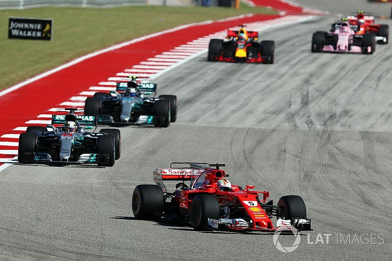 """Vettel : """"Nous ne pouvions pas tenir le rythme"""""""