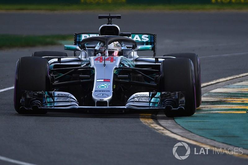 Hamilton a déjà dû gérer son usure moteur à Melbourne