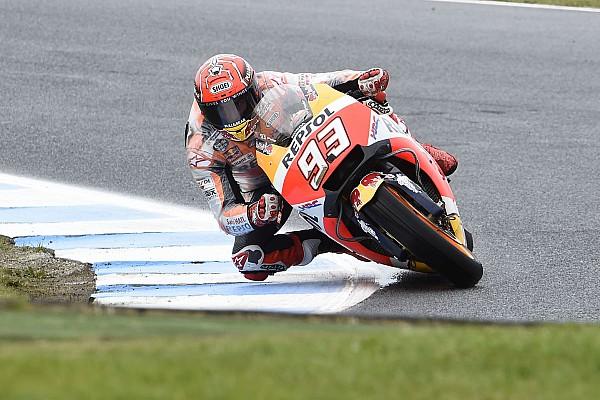 MotoGP Reporte de prácticas Márquez reconfirma su dominio en el warm up de Phillip Island