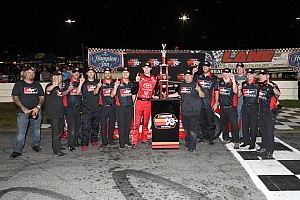 NASCAR Breaking news Todd Gilliland takes K&N East opener in wild duel with Harrison Burton