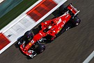 F1アブダビFP1速報:首位ベッテル。アロンソ、トップから1.5秒差の7番手