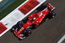 F1 Vettel lideró la primera práctica en Abu Dhabi
