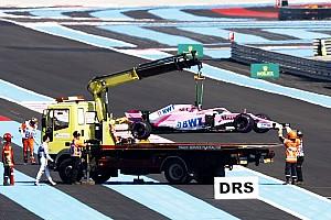 Formule 1 Actualités Lourde amende pour Force India suite à la roue perdue par Pérez