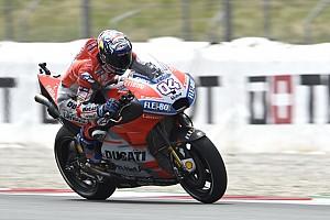 MotoGP Réactions Dovizioso a le rythme