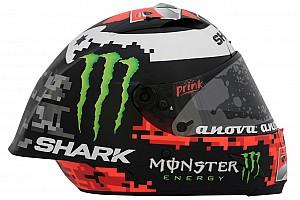 MotoGP Diaporama Un nouveau casque pour Lorenzo en 2018