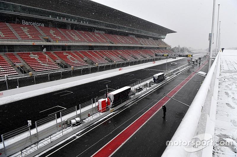 Pirelli maakt zich zorgen over 'winterse' F1-test in Barcelona
