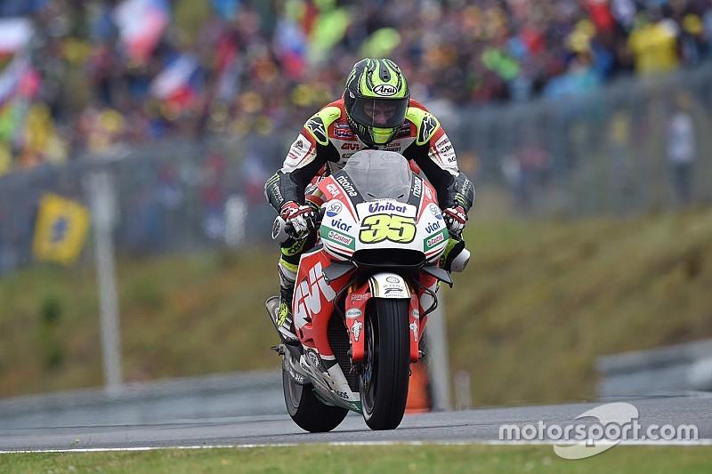 Кратчлоу одержал дебютную победу в MotoGP