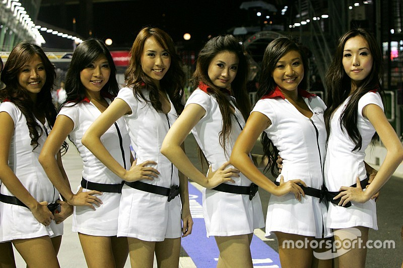 Организаторы Гран При Сингапура решили сохранить формат грид-герлз