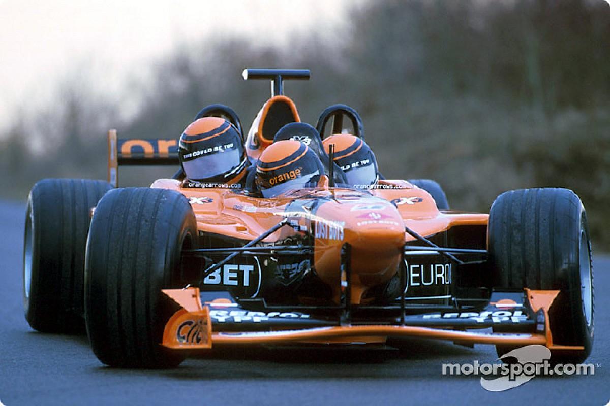 Третий не лишний. 18 лет назад Arrows представила трехместную машину Ф1