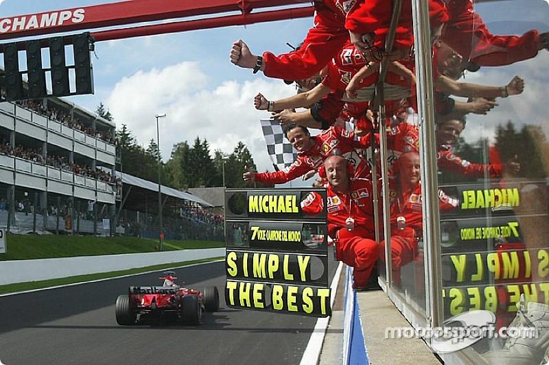 GALERÍA: Un 2004 aplastante para el séptimo título de Schumacher
