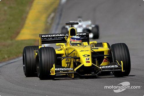 Sato'nun eski Jordan F1 aracı, İngiltere'de pist gününde kullanıma sunuldu