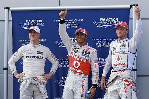 GALERÍA: Lewis Hamilton y sus 99 pole position