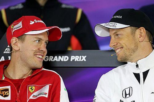 «Странные оправдания». Баттон раскритиковал Ferrari за увольнение Феттеля