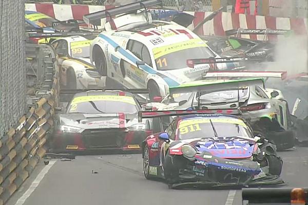 """GT Entrevista Di Grassi: """"No recuerdo una locura de accidente como este de Macao"""""""