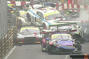 VIDEO: el impresionante choque de GT en Macao