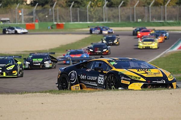 Lamborghini Super Trofeo Race report Lamborghini World Final: Wlazik/Scholze crowned in Am/Cup Race 2