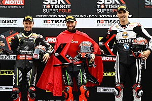 World Superbike Qualifying report Donington WSBK: Sykes sets all-time pole record