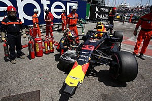 Formula 1 Breaking news Verstappen to start Monaco GP last
