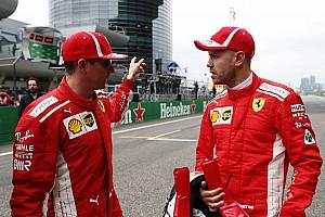 Ferrari lebih utamakan Vettel ketimbang Raikkonen - Symonds