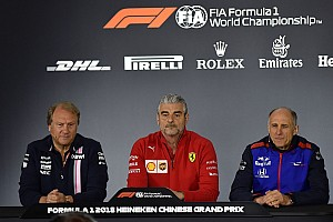 Formula 1 Press conference Chinese GP: Friday's press conference