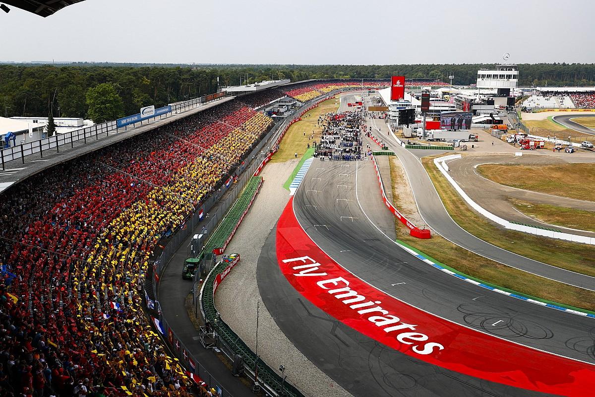 Fotogallery: l'incredibile rimonta vincente di Hamilton nel GP di Germania di F1