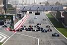 FIA F2 Le départ, un