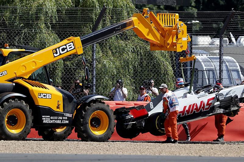 Haas'ın Grosjean'a karşı sabrı taşıyor