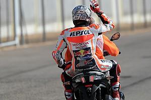 MotoGP Reaktion MotoGP-Showdown in Valencia: Marquez nach 26. Sturz 2017 cool