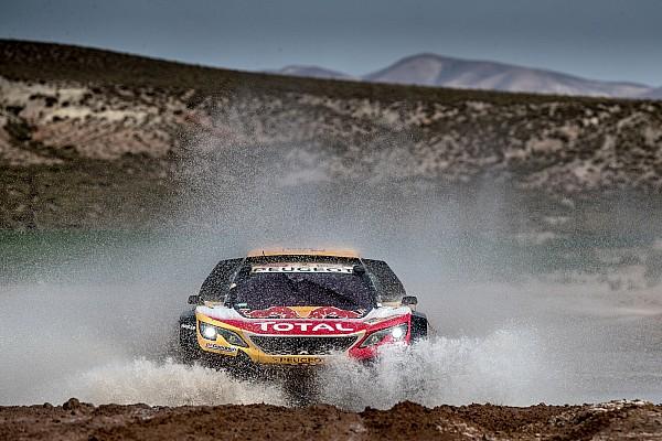 Dakar Peterhansel concedes Dakar victory hopes to Sainz