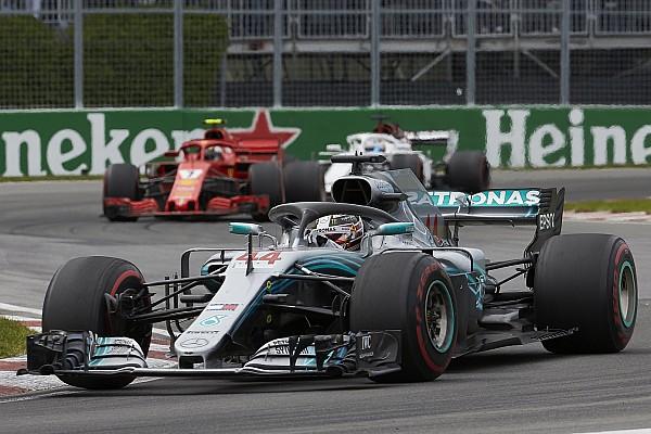 Formule 1 Mercedes: Les moteurs de Montréal étaient utilisés à plein