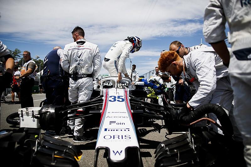 Williams знову змінила сидіння заради комфорту Сироткіна