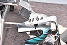 Formula 1 Mercedes: ecco i generatori di vortice sulle pance della W09